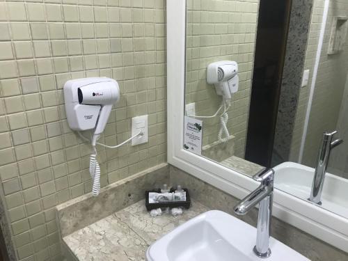 A bathroom at Itatiaia Resort & Eventos