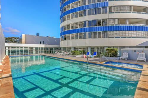 The swimming pool at or near Tweed Ultima Apartments