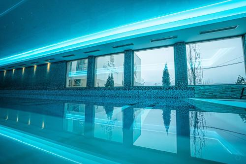 The swimming pool at or near Grand Hotel Belvedere