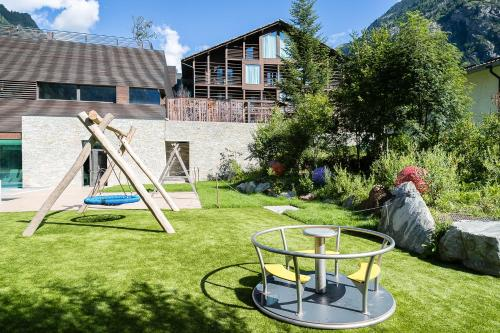 Children's play area at Mirtillo Rosso Family Hotel