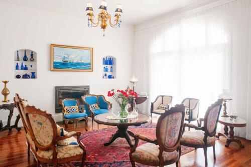 Zona de estar de Hotel Casa SOMERSCALES