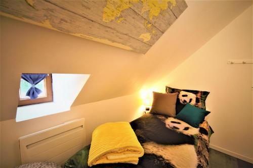 Un ou plusieurs lits dans un hébergement de l'établissement o2cavesnerault