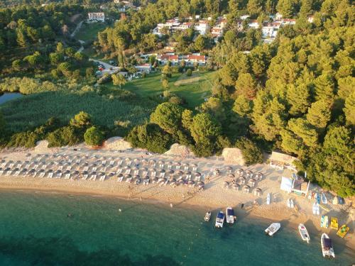 Vista aerea di Skiathos Holidays
