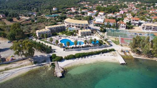 Vista aerea di Ionian Emerald Resort
