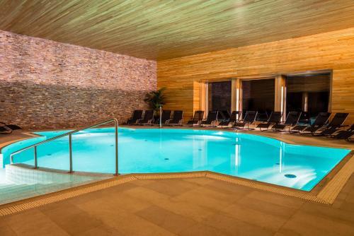 The swimming pool at or near Zamek Hradek u Susice