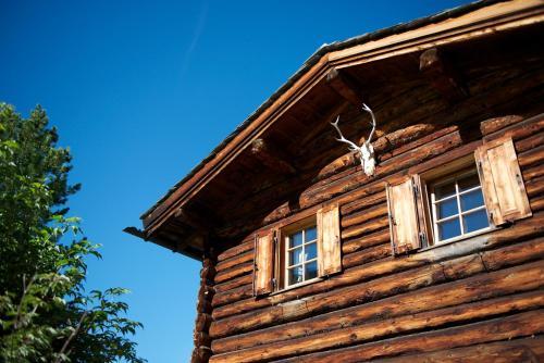 Chalet Berghof Sertig im Winter