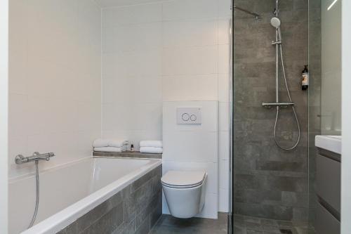 Salle de bains dans l'établissement Hotel Victoria