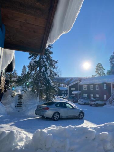 Joängets Fjällgård under vintern