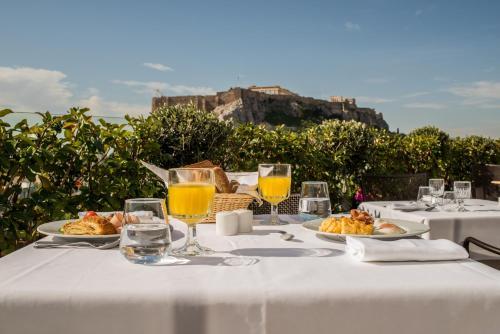 אפשרויות ארוחת הבוקר המוצעות לאורחים ב-Electra Palace Athens