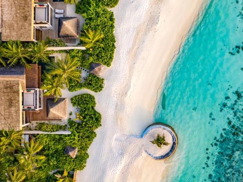 Een luchtfoto van OZEN RESERVE BOLIFUSHI - Luxury All Inclusive