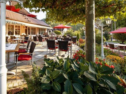 Ein Restaurant oder anderes Speiselokal in der Unterkunft Gasthof Belchenblick
