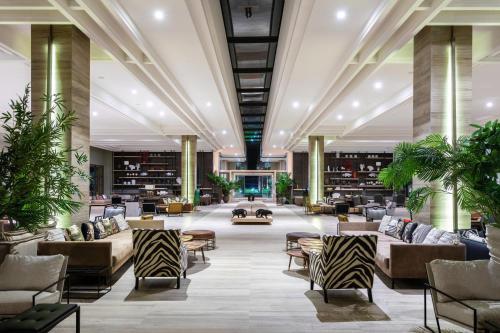 مطعم أو مكان آخر لتناول الطعام في Hotel Riu Palace Tikida Taghazout - All Inclusive