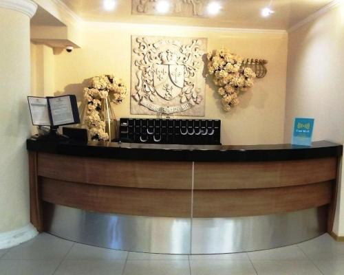 The lobby or reception area at Prince Vladimir