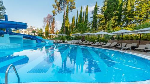 The swimming pool at or near Ostrova Spa Hotel