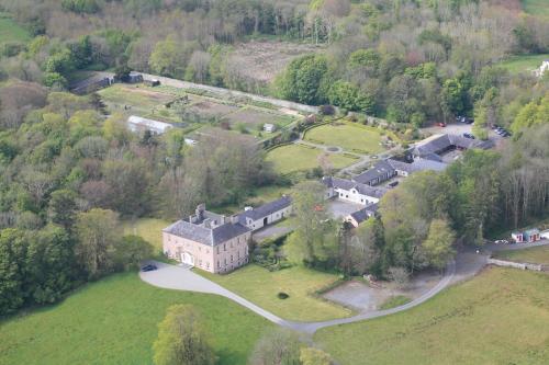 A bird's-eye view of Enniscoe House