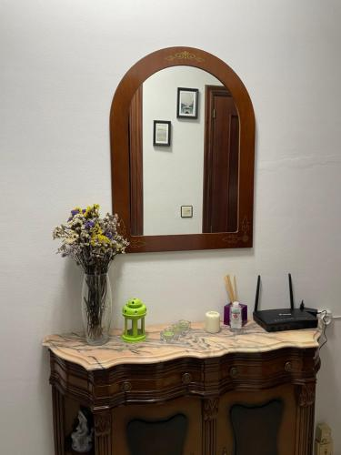 A bathroom at Piso O Percebe