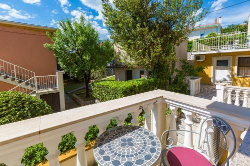 Balkón alebo terasa v ubytovaní Akelava Apartments
