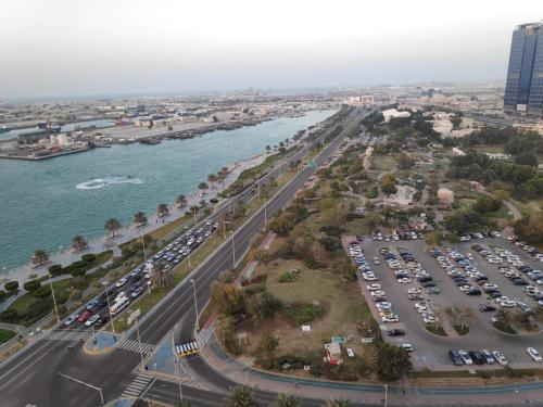 A bird's-eye view of Al Reef Towers - for Women only
