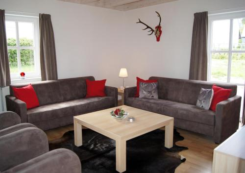 A seating area at Winterberg Chalet 21096