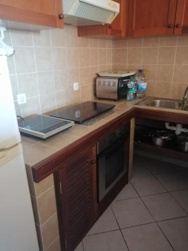 A kitchen or kitchenette at Casa Mar Doce