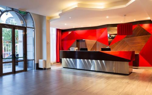 The lobby or reception area at Park Inn by Radisson Sochi City Centre