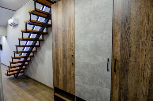 A bathroom at Studio in Gelendzhik