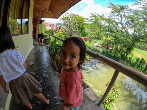 Children staying at PIAS POPPIES HOTEL