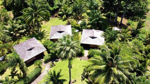 Uma vista aérea de Village Temanoha