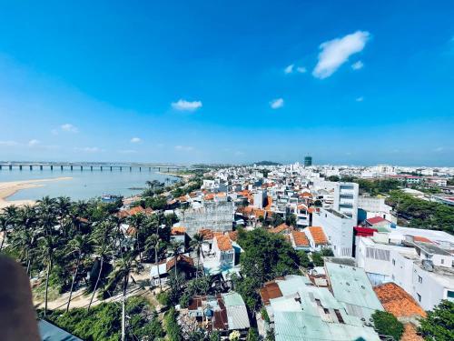 A bird's-eye view of Sai Gon Phu Yen Hotel
