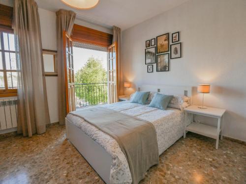 Cama o camas de una habitación en Villa Ricardo