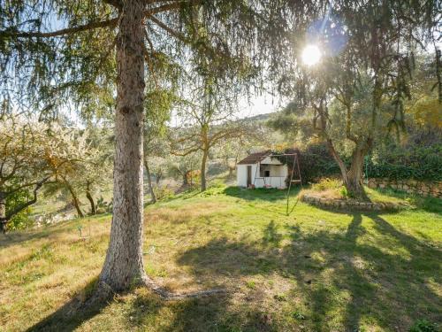 Jardín al aire libre en Villa Ricardo