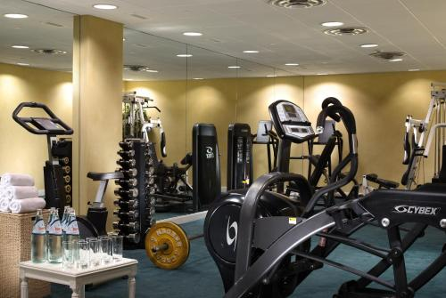The fitness center and/or fitness facilities at Royal Olympic Hotel