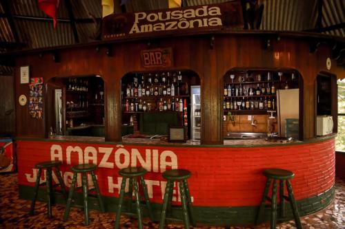 Lounge oder Bar in der Unterkunft Amazonia Jungle Hotel