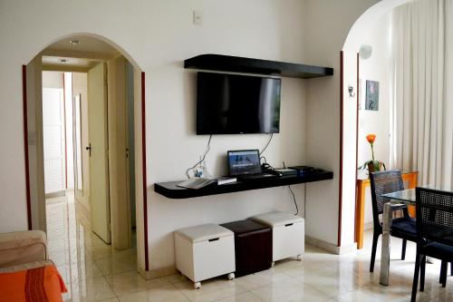A television and/or entertainment center at Rio Copa 6