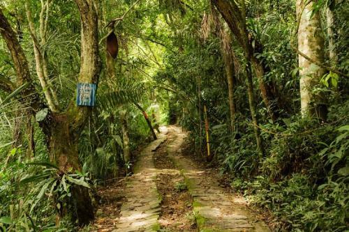 Paisagem natural perto do hostel