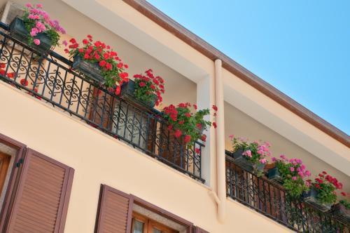 A balcony or terrace at Bed&Breakfast Chiara