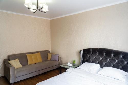 Кровать или кровати в номере Apartment Prestige