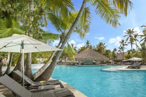 The swimming pool at or near Catalonia Punta Cana - All Inclusive