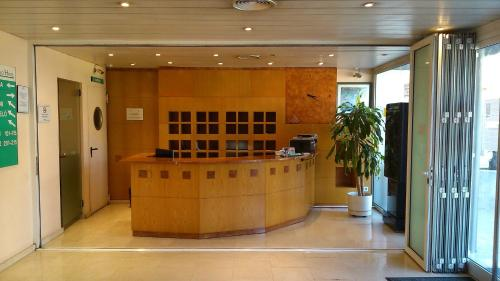 Hall o reception di Hotel Montmeló