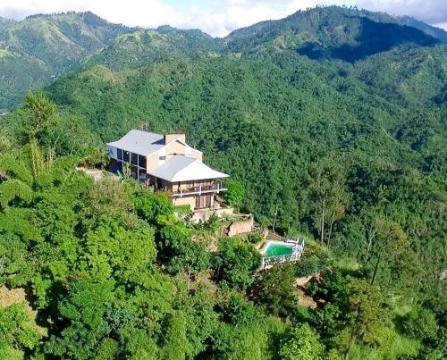A bird's-eye view of Tranquility Estate