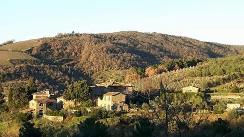 A bird's-eye view of Agriturismo Poggio all'Olmo