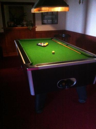 A pool table at Scorrabrae