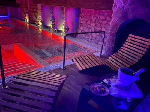 Piscina en o cerca de Hotel SPA Bodega El Lagar de Isilla