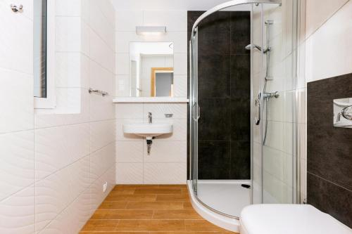 Łazienka w obiekcie Apartamenty Villa Baltic Sun I