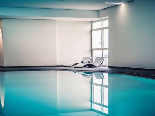 The swimming pool at or near Mercure Hotel Lüdenscheid