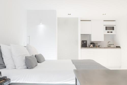 Een keuken of kitchenette bij Prinsenhof Suite