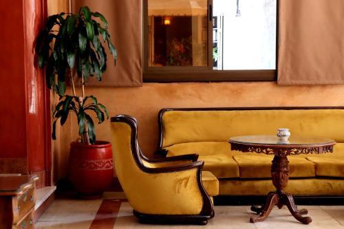 Zona de estar de Hôtel Rembrandt