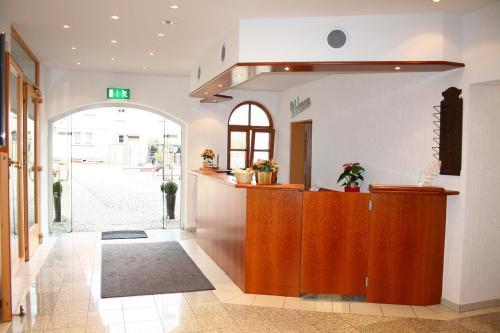 Lobby/Rezeption in der Unterkunft Hotel Erlenbacher Hof