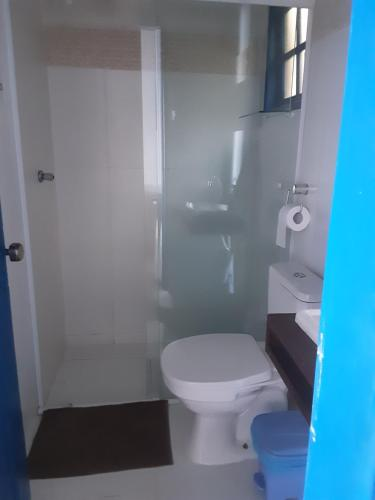 A bathroom at Living Saracura