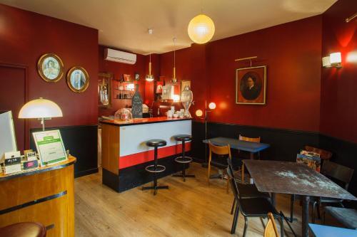 The lounge or bar area at B&B Casa Ortega